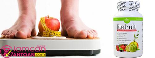 Viên giảm cân Lite Fruit USA - Giảm cân an toàn, nhanh chóng3