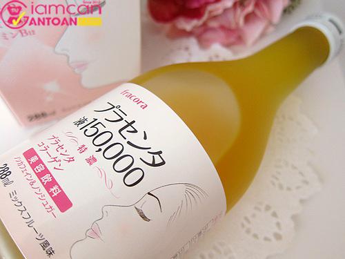 Nước uống đẹp da, bổ sức khỏe Nhật Bản Fracora Placenta 150.000mg.