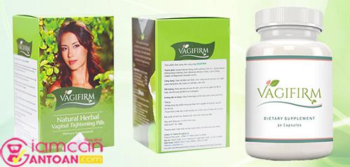 Viên uống se khít vùng kín, tăng cường sinh lý nữ Vagifirm2