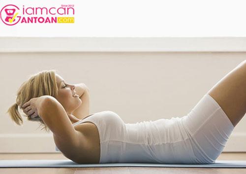 Bài tập giảm mỡ bụng hiệu quả nhanh nhất hiện nay