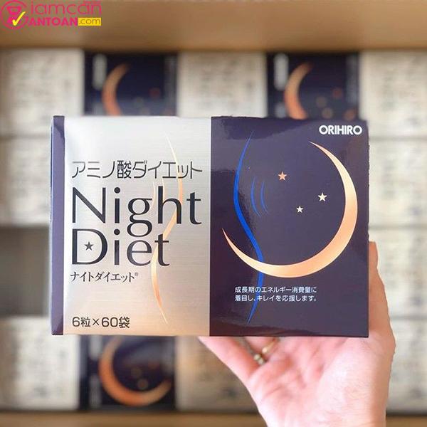 Orihiro Night Diet ngoài giúp giảm cân còn hỗ trợ đẹp da và ngủ ngon