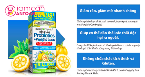 Purely Inspired Probiotics and Weight Loss tính năng