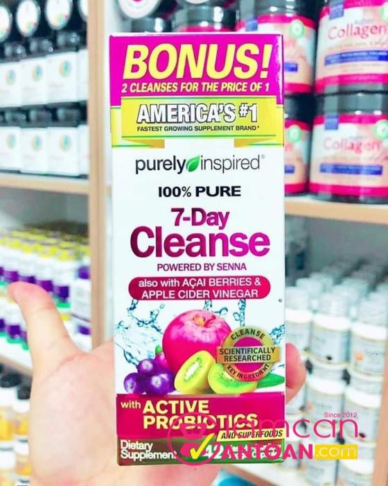 Thuốc giảm cân chính hãng Purely Inspired 7 Day Cleanse
