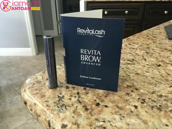 Serum Revitalash Eyebrow Conditioner 0,9ml chứa nhiều thành phần giúp chân mày mọc tự nhiên