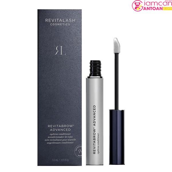 Serum Revitalash Eyebrow Conditioner 3ml giúp kích thích chân mày mọc dày và nhanh