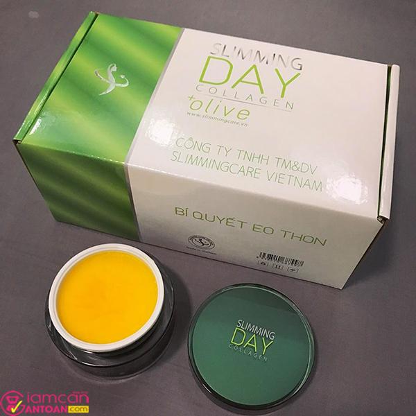 Slimming day collagen chứa nhiều thành phần thảo dược an toàn cho người dùng
