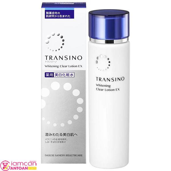 Transino Whitening Clear Lotion là có công dụng ngăn chặn sự hình thành hắc sắc tố Melamin