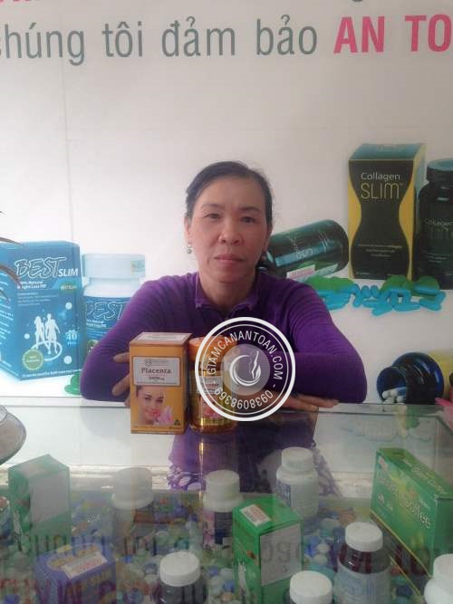 nhau thai cuu Golden Health Placenta 50.000mg