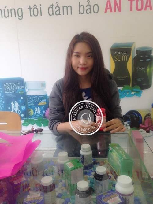 thuoc giam can Chị Thiên Nga - Khách hàng mua Raspberry Ketones & White Kidney Bean
