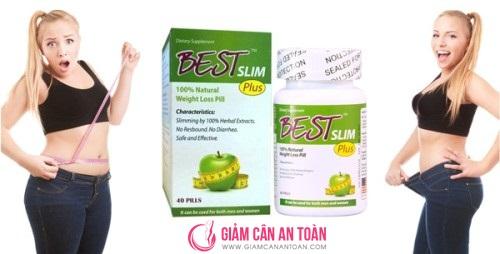 Viên giảm cân Best Slim thế hệ mới bổ sung collagen an toàn cho cơ thể