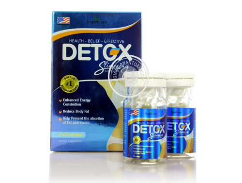 thuoc giam can Detox Slimming Capsules USA