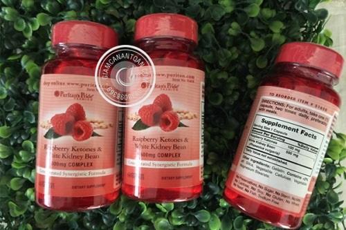 Raspberry Ketones & White Kidney Bean mua o dau