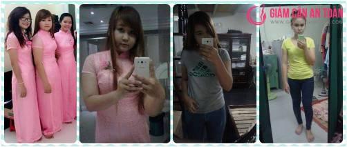 Cô gái giảm thành công 12kg chỉ trong 1 tháng với viên uống giảm cân Rich Slim