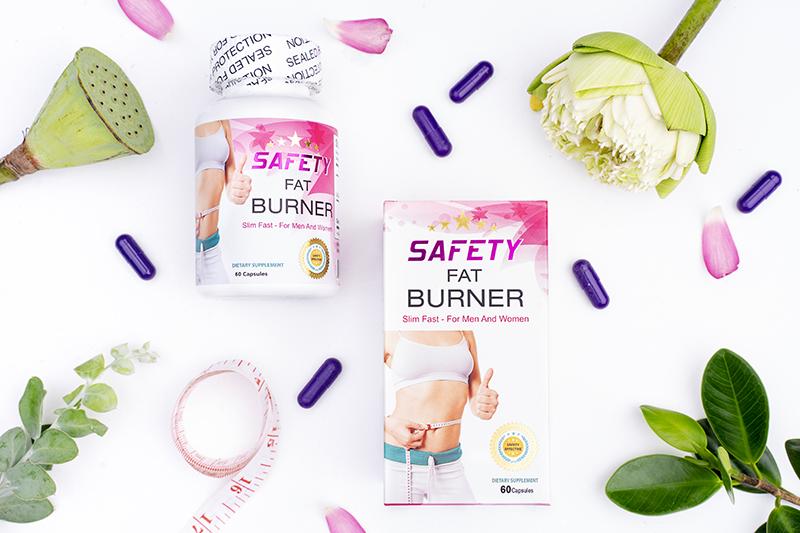 bí quyét giảm cân của sao việt 2018 - Safety Fat Burner
