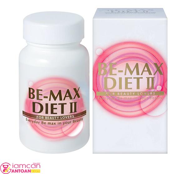 Be-Max Diet II có tác dụng tích cực cho việc hỗ trợ giảm cân