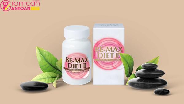Be-Max Diet II còn giúp giảm các loại mỡ đọng bên trong cơ thể