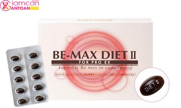 Be-Max Diet II được sữ dụng dành cho những ai có nhu cầu giảm cân nhanh