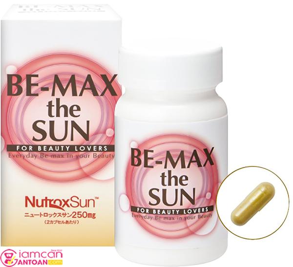 Be-Max The Sun chứa nhiều thành phần thiên nhiên tốt cho làn da