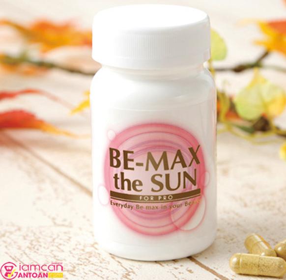 Be-Max The Sun hãy uống theo đúng chỉ dẫn để có hiệu quả tốt nhất