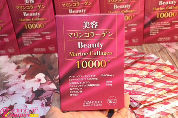 Beauty Marine Collagen 10.000mg chứa rất được thị trường Nhật tin dùng