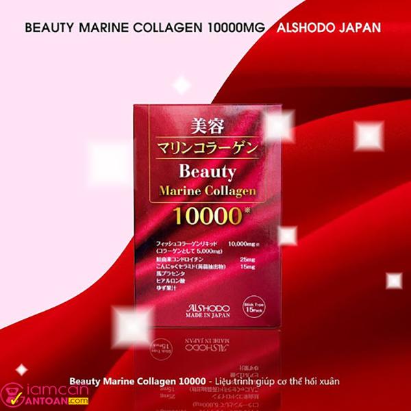 Beauty Marine Collagen 10.000mg phù hợp cho phụ nữ từ 25 tuổi trở đi