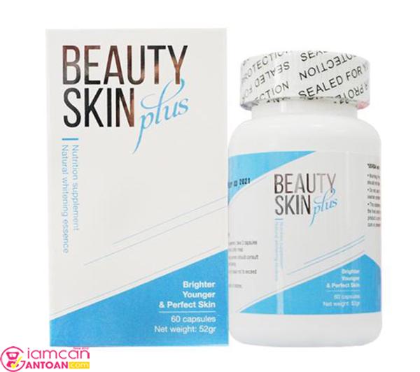 Viên Uống Trắng Da Chống Nắng Beauty Skin USA Mẫu Mới 2018