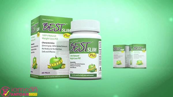 Best Slim Plus có chứa nhiều dưỡng chất giúp làm đẹp da, tốt cho sức khỏe