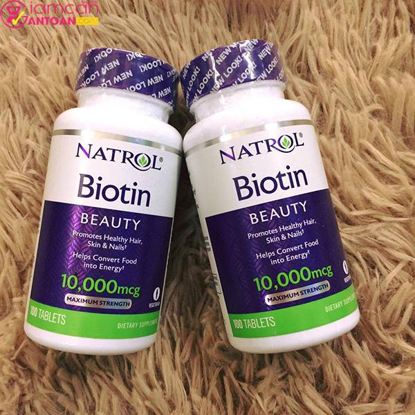 Biotin Mỹ bổ sung dưỡng chất thiết yếu để hỗ trợ ngăn ngừa rụng tóc