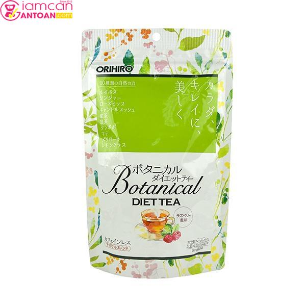 Trà Thảo Mộc Giảm Cân Botanical Diet Tea rất được ưa chuộng tại Nhật Bản