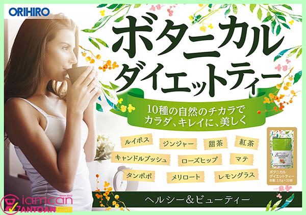 Trà Thảo Mộc Giảm Cân Botanical Diet Tea sẽ hiệu quả nếu sử dụng hằng ngày