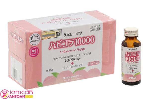 Collagen de Happy có rất nhiều tác dụng tốt cho sức khỏe