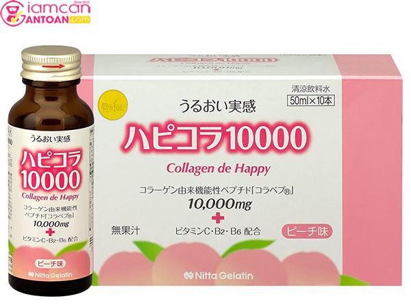 Collagen de Happy chứa nhiều vintamin đặc biệt là lượng collagen
