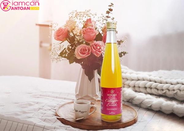 Collagen Enrich Hebora của Nhật Bản rất được ưa chuộng tại thị trường Nhật