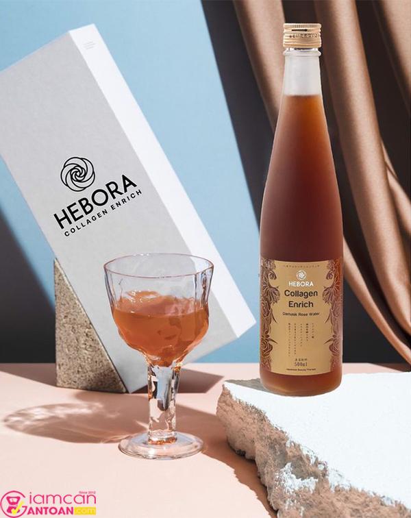 Collagen Enrich Hebora của Nhật Bản chứa nhiều thành phần thiết yếu tốt cho sức khỏe