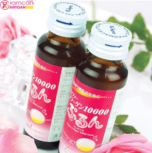 Collagen Purun Mopity Nhật Bản 10.000mg giúp thẩm thấu nhanh các dưỡng chất