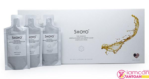 Shoyo là một trong những dòng thực phẩm dinh dưỡng uống của Mỹ