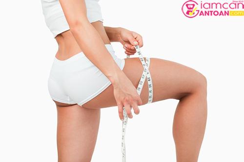 Muốn giảm mỡ đùi hiệu quả cần phải kiên trì
