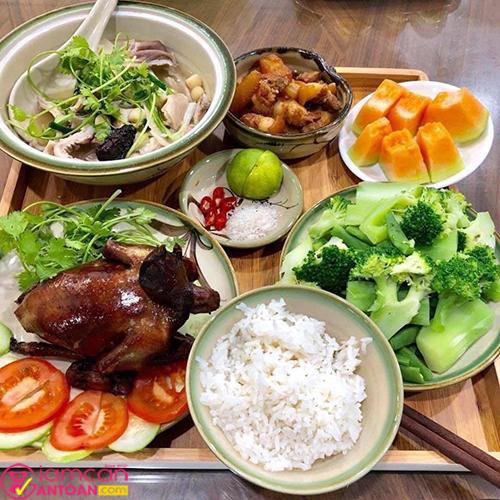 Hãy tăng cường thực phẩm xanh để giúp bữa ăn lành mạnh