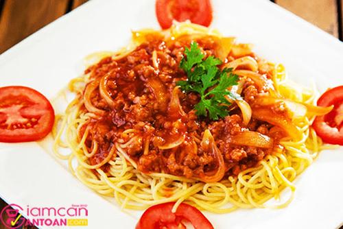 Mì Ý chứa nhiều tinh bộ và calories