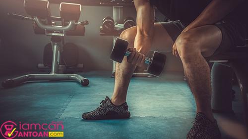 Các bạn nam cần chú trọng sức khỏe và chăm chỉ tập luyện