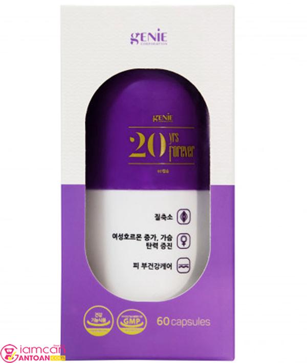 Genie 20yrs Forever chứa nhiều dưỡng chất thiết yếu tốt cho cơ thể