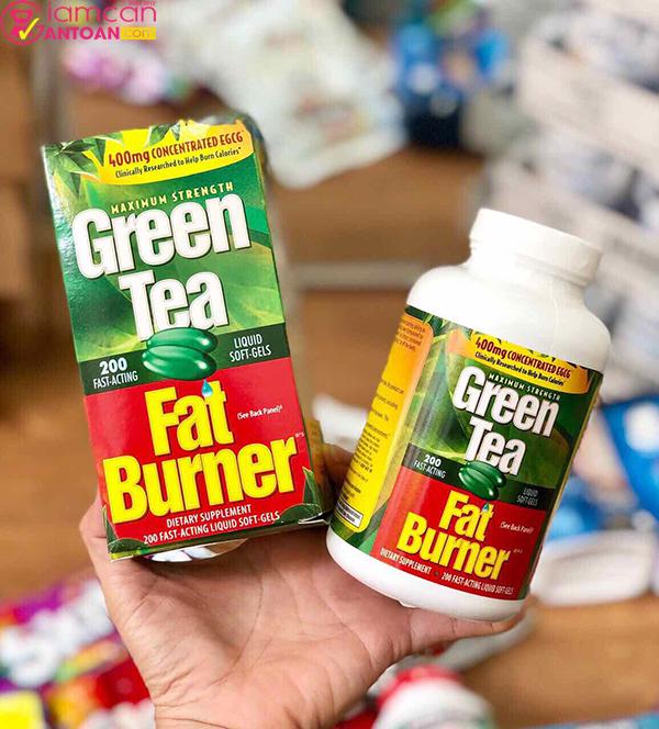 Green Tea Fat Burner dùng thường xuyên hiệu quả giảm cân nhanh chóng