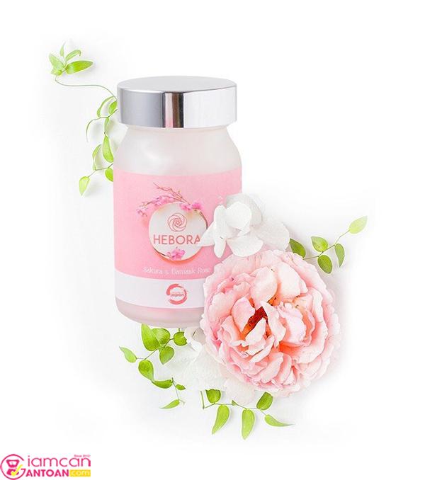 Hebora Sakura & Damask Rose chiết xuất từ tinh chất các loài hoa quý