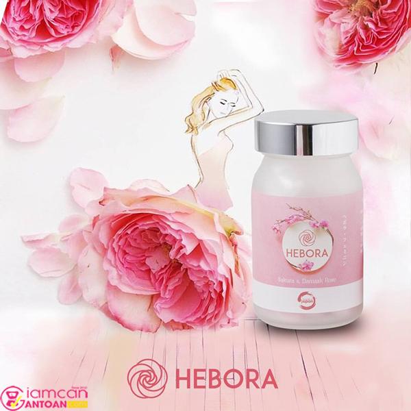 Viên uống Hebora là sự kết hợp tinh túy giữa 4 loài hoa