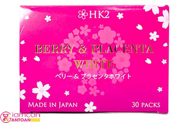 Berry & Placenta White gây sức hút với khả năng nuôi dưỡng
