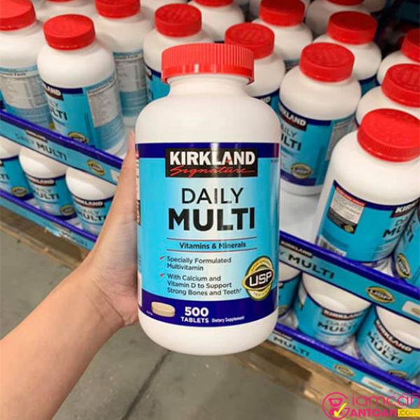 Hãy uống Kirkland Daily Multi Vitamins đều đặn sẽ tốt cho sức khỏe