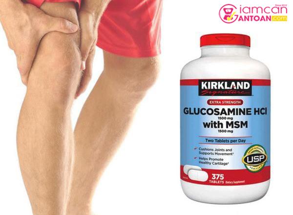 Kirkland Glucosamine HCL hỗ trợ người đang trị bệnh xương khớp rất hiệu quả
