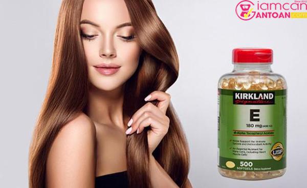 Kirkland Vitamin E 400 IU cải thiện và duy trì vẻ đẹp và sức khỏe