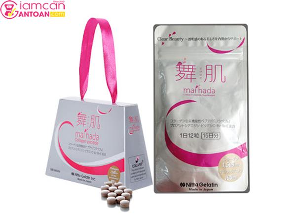 Viên Uống Chống Lão Hóa Collagen Maihada Nitta Gelatin rất nổi tiếng tại Nhật Bản