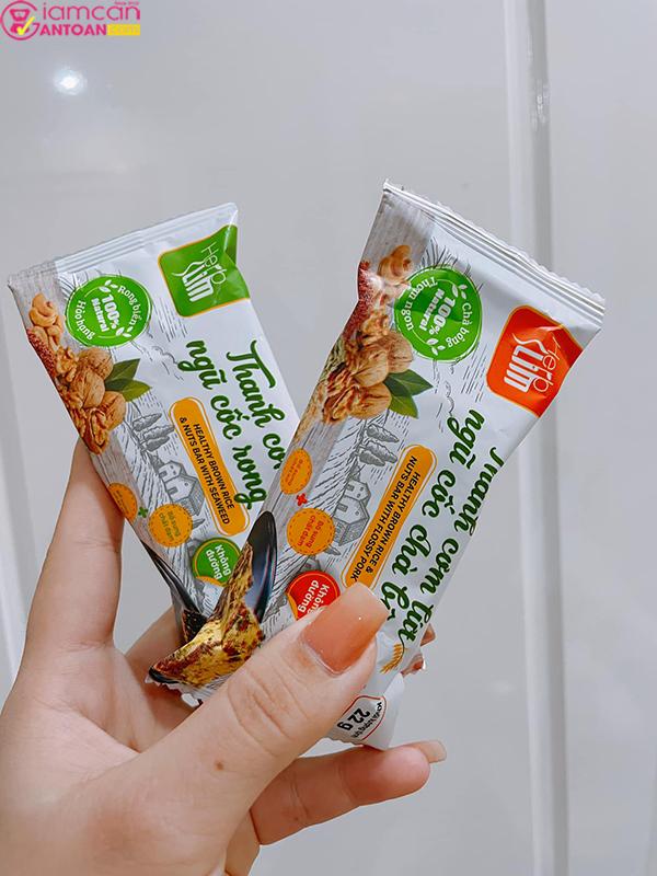 Thanh cơm gạo lứt Herbslim vừa tốt cho sức khỏe vừa giúp giảm cân